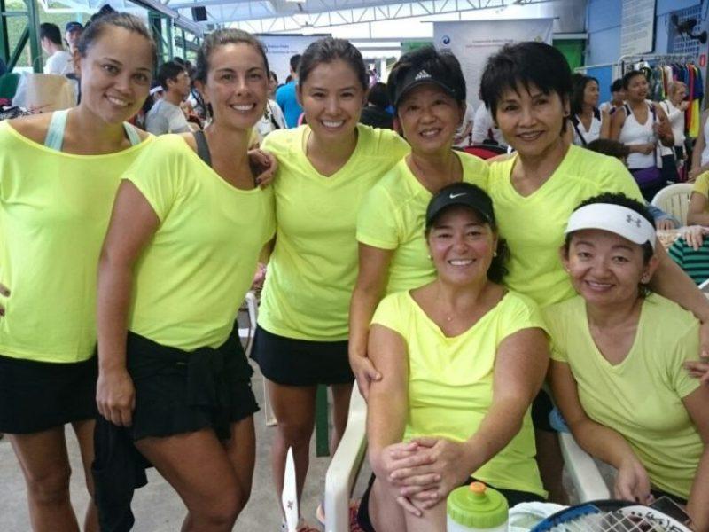 Equipe no Pré Damas- Coopercotia